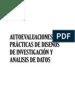 Autoevaluaciones practicas de diseños de investigacion y analisis de datos
