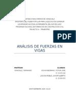 Trabajo 1 - Analisis de Fuerzas en Vigas