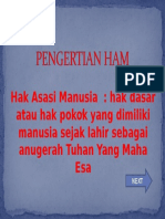 2.Pengertian Ham
