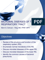 5th September 2016 - Microbio 01 - Microbial Diseases of the Respiratory Tract