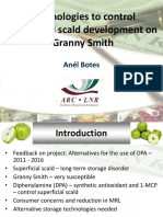 Technologies to control superficial scald development on Granny Smith - Anel Botes