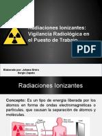 Diaspositivas Charla Adiestramiento Sobre Vigilancia Radiologica. Sivira 2016-2
