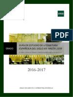 GUÍA 2 Literatura Española Siglo XX Hasta 1939 (1)