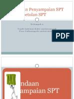 Penundaan Penyampaian SPT Dan Pembetulan SPT