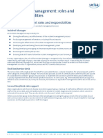 ITIL_IM Roles and Responsibilities PDF