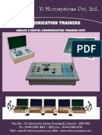 Analog & Digital Communication Trainer