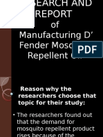 Business Research and Report