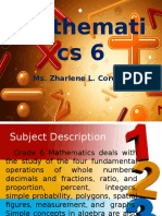 Mathematics 6