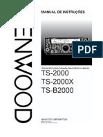 TS-2000 Manual Português