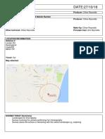 Call Sheet Location