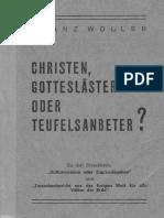Franz Woller_Christen Gotteslästerer Oder Teufelsanbeter_15 MBytes_20161102