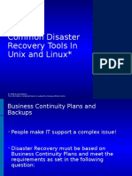 Unixlinux-common-disaster-recovery-tools.ppt