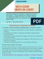 Tutorial Leadership 6