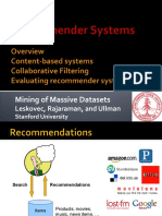 RecommenderSystems1 Overview 1