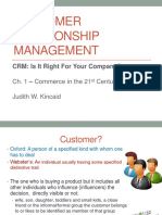 customer relationship management getting it right way by judith w. kincaid ch 1