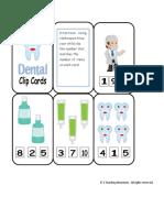 Dental Clip Cards