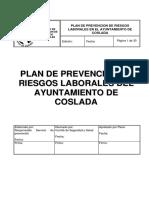 Plan Prevencion de Riesgos Laborales Ayto Coslada