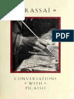 Brassai Conversations With Picasso