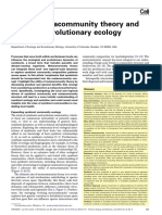 Trends in Ecology and Evolution- Mihaljevic - Metacomunidad