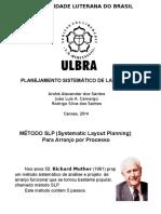 Planejamento Sistemático de Layout SLP