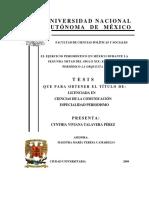 Cynthia Viviana Tlavera - El Ejercicio Periodístico en México Durante La Segunda Mitad Del Siglo XIX El Caso de La Orquesta