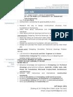 CV English+coverletter-VONGOCHAI