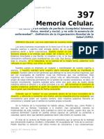 Autoestima Cap 397 Memoria Celular