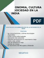 Economia, Cultura y Sociedad en La India