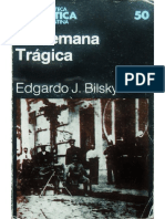 Bilsky, Edgardo. La Semana Trágica