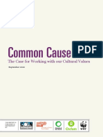 Common Cause - The Case for Working With Our Cultural Values