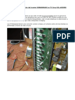 Cómo Anular La Protección Del Inverter SSB400WA20S TV Sony KDL-40D3500