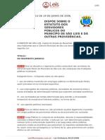Lei Ordinaria 4615 2006 Sao Luis MA