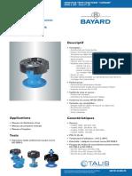 Bayard Ventouse Trois Fonctions Vannair f120-i