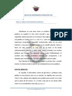 Tema2 _reglas Ortograicas Básicas