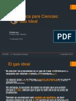 Introducción a los gases ideales