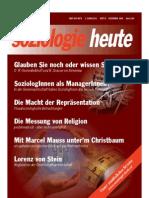 SOZIOLOGIEHEUTE Dezemberausgabe2009 Scribd Seiten1-7