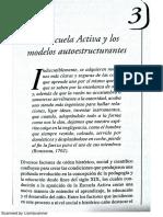Los Modelos Pedagógicos Hacia Una Pedagogía Dialogante - Julian de Zubiria Samper - Capítulo 3 La Escuela Activa y Los Modelos Autoestructurantes