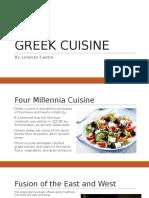 Greek Cuisine