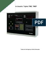 Tajima TMEF-610 Manual Español