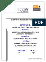 Unidad 3 desarrollo de aplicaciones