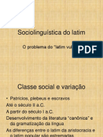 Sociolinguística Do Latim