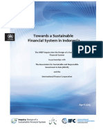 1 Towards a Sustainable Financial System in Indonesia