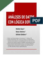 Analsis Datos Con Logica Difusa