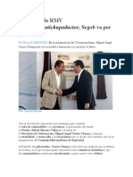 01.11.16 Pide RMV estrategia antichupaductos; Segob va por prevención