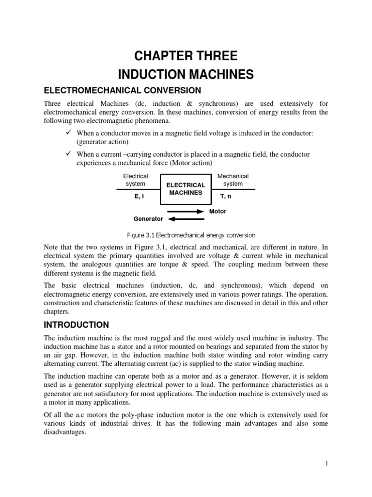Chapter Three 1 Manufactured Goods Electromagnetism Wiring As Well 200kw Ac Motor Soft Starter Power