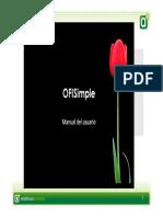 Presentación Manual Ofisimple Comercio [Modo de Compatibilidad]