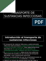 Transporte de Sustancias Infecciosas (Bioseguridad)
