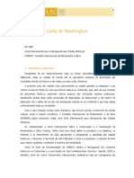 1986 - Carta de Washington