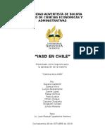 Informe de Historia Iasd