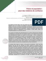 02112016 - Police Et Population Pour Des Relations de Confiance